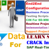 SAP Configuration & Real time Projects Data DVD's