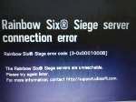 Fix Rainbow Six Siege error code 3-0x00001000B