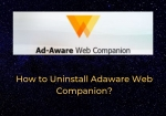 How to Uninstall (remove) Lavasoft Adaware Web Companion on Windows System?