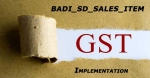 BADI_SD_SALES_ITEM GST Implementation