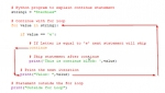 Use of Continue Statement in Python with Example
