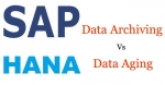 Difference between Data Archiving and Data Aging in SAP S/4HANA
