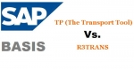 Difference between R3TRANS and TP