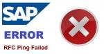RFC Ping Failed Kernel