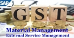 External Service Management for SAP GST MM India