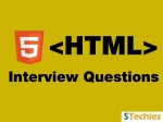 Top Latest HTML Interview Questions and Answers