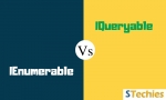Difference between IEnumerable and IQueryable with Comparison Chart