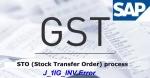 Transaction code J_1IG_INV Error for STO