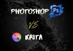 Comparison of Krita vs Photoshop as of 2020