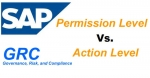 Differences between Action level and Permission level