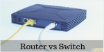 Difference between Switch and Router with Comparison Chart