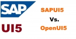Difference between SAPUI5 and OpenUI5