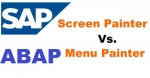 Difference between Screen Painter and Menu Painter