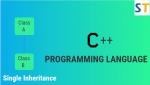 Single Inheritance in C++ Programming