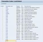 How can Lock/Unlock transaction codes via SM01?