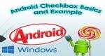 Checkbox Basics with Example