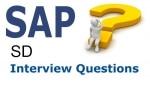 Partner Profit Center Cross Company Code Sales Interview Questions
