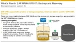 SAP HANA Database Backup & Recovery Interview Question and Answer