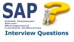 SAP HANA Database Server Management Console (hdbcons) Interview Question and answer