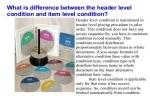 SD Header Conditions/ Header Condition Screen Interview Q&A