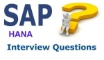SAP HANA Network Interview Questions and Answers for Experienced