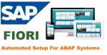 Automated Setup of Fiori Configuration for ABAP Systems