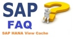 SAP HANA View Cache Interview Questions & Answers