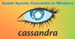 Install Apache Cassandra In Windows