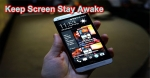 Keep Screen Stay Awake in Android App