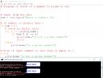 Python Program for Prime Number
