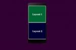 Split Screen using Multiple Layout