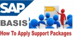 Steps to Apply SAP Support Package