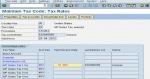 Create New Tax code in SAP
