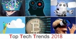 Top 10 Tech Trends of 2018 in India