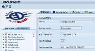 SAP BAPI Tutorial