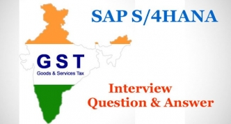 GST Interview Questions and Answers