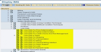 Difference between User Exit and Routines in SAP SD