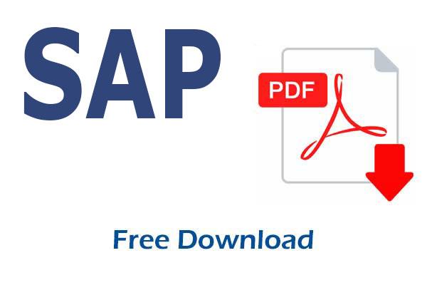 Sap Abap Pdf Books And Free Training Material