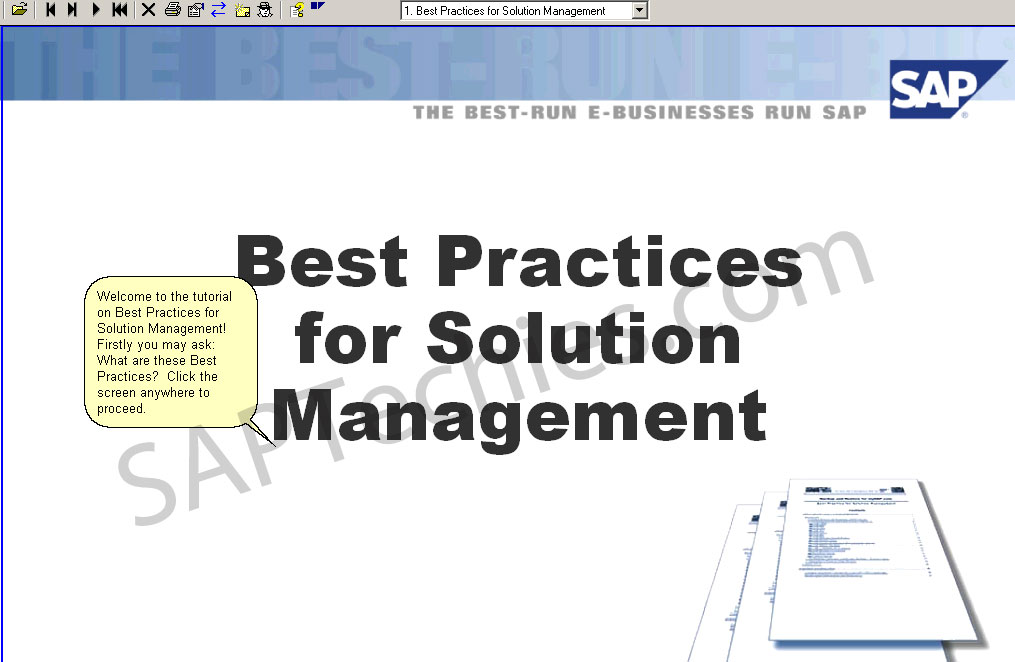 sap solution manager implementation guide