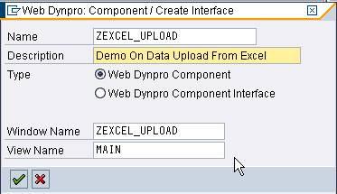 Uploading Excel files using WebDynpro in SAP ABAP