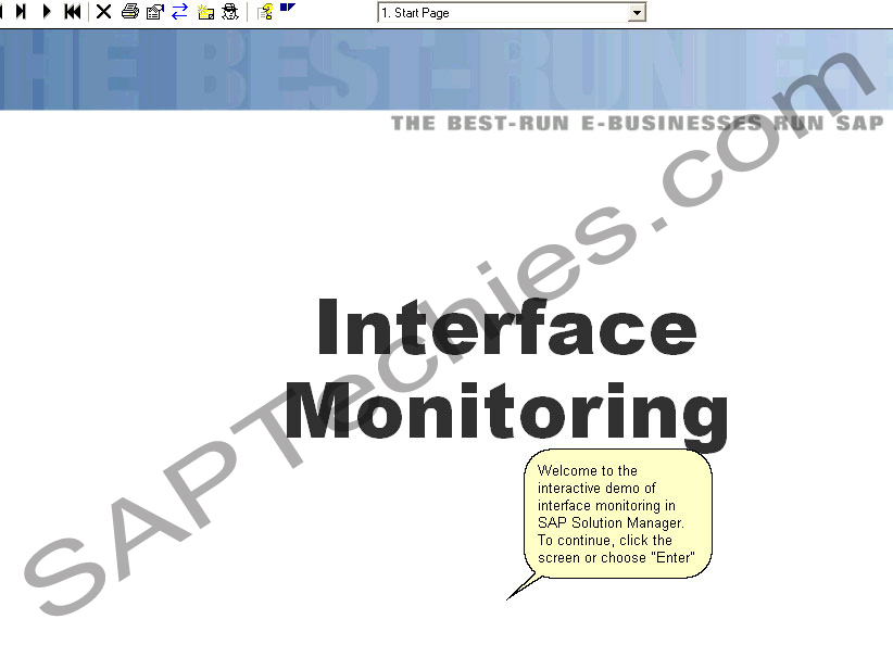 interface monitoring in sap solution manager solution manager