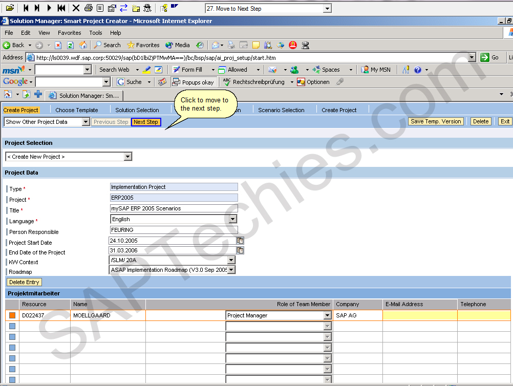 Define Blueprint-Scope by using the predefined Business Scenarios ...