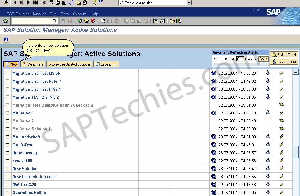 sap solution manager sample resume
