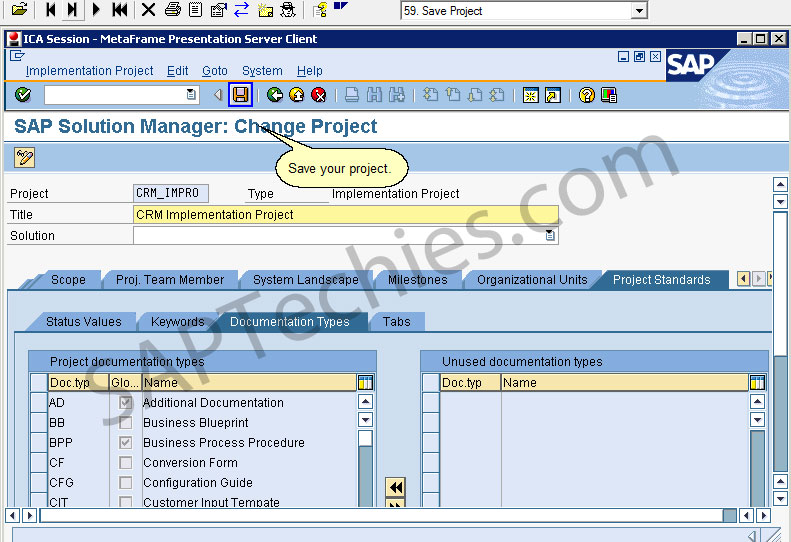 Sap solution manager in an implementation project crm 50 sap solution manager change project malvernweather Choice Image