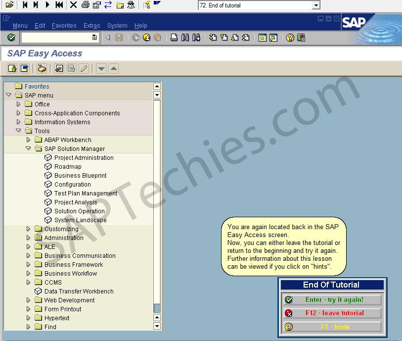SAP Solution Manager Support Desk 3 1