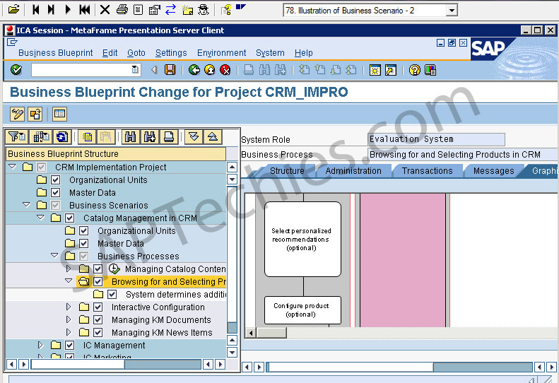 Sap solution manager in an implementation project crm 50 business blueprint change for project crmimpro malvernweather Image collections