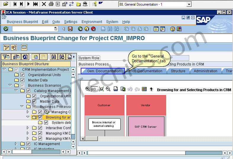 Sap solution manager in an implementation project crm 50 stechies business blueprint change for project crmimpro malvernweather Images