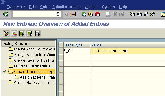 electronic bank statement configuration in sap fico pdf