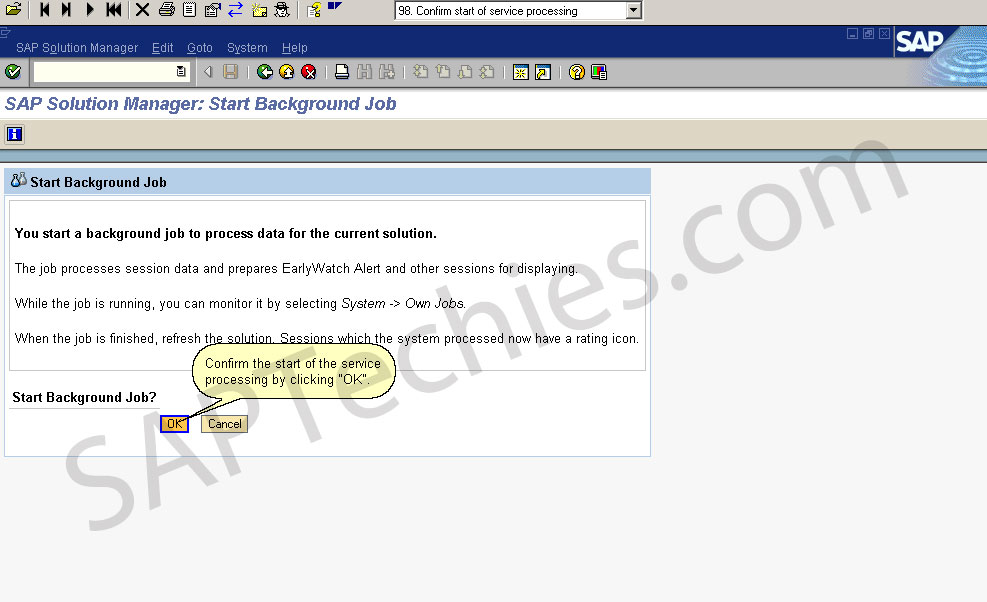 Setup Early Watch Alert for SAP Solution Manager 4.0