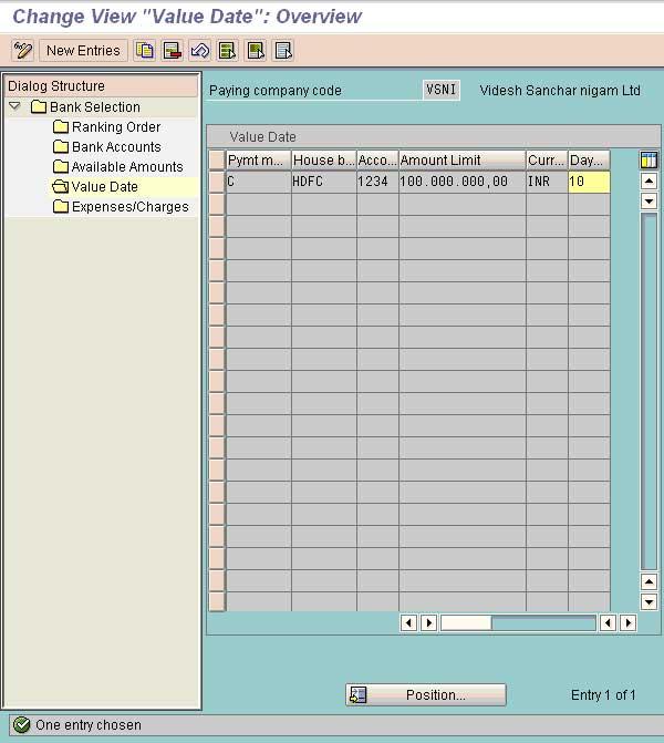 fbzp settings all company codes in sap fico
